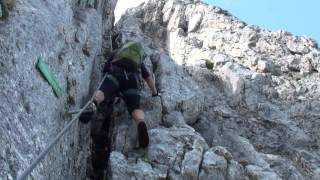 HTL Wels klettersteig - 2013