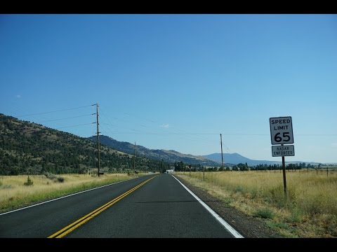 2K16 (EP 23) US Route 395: Oregon back to California