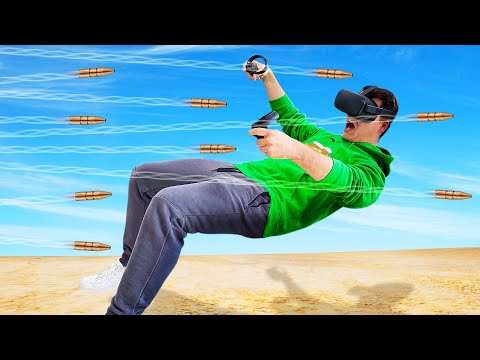 DODGE The BULLETS In VIRTUAL REALITY! (Oculus Quest)