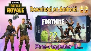 How to download Fortnite on Android without human verification 😂😂 || Full Information||