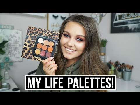 MY LIFE PALETTE | Swatches + Alternatives!!