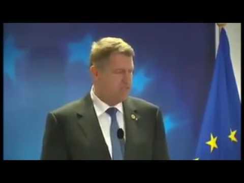 Klaus Iohannis este intrerupt de Olguţa Vasilescu