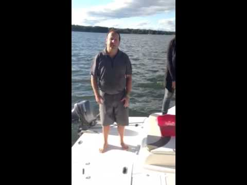 Essex Power CEO Ray Tracey takes ALS Ice Bucket Challenge