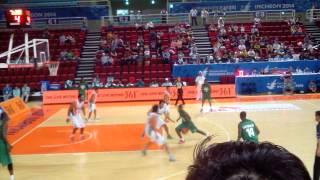 Asian Games 2014 Basketball (Saudi Arabia vs India)