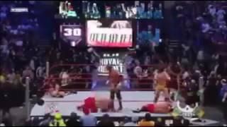 Marcianito 100% real no fake participa en royal rumble WWE