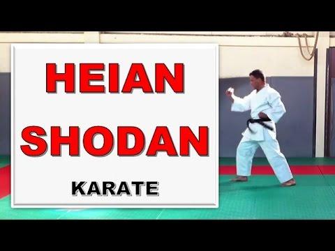 afcfcc3adde5 Karate - Heian Shodan, the first for the black belt  Karate-Blog.com