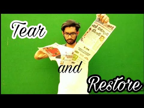 Paper Tear And Restore Trick Revealed | Indian Dynamite