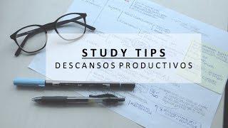 ¿CÓMO SACAR BUENAS NOTAS?   Consejos + Descansos productivos