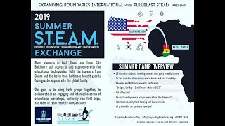 Summer STEAM Exchange 2019 Part 1