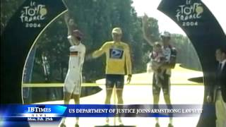 US Department Of Justice Joins Lawsuit Against Lance Armstrong