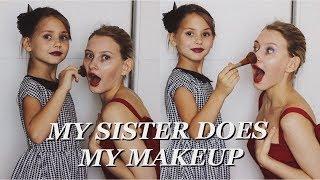 Сестра Делает Мне Макияж // My Sister Does My Makeup