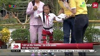 """""""Cặp lá yêu thương"""" tại Kiên Giang - Tin Tức VTV24"""