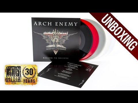 "ARCH ENEMY - Reason To Believe (7"" Vinyl Unboxing)"