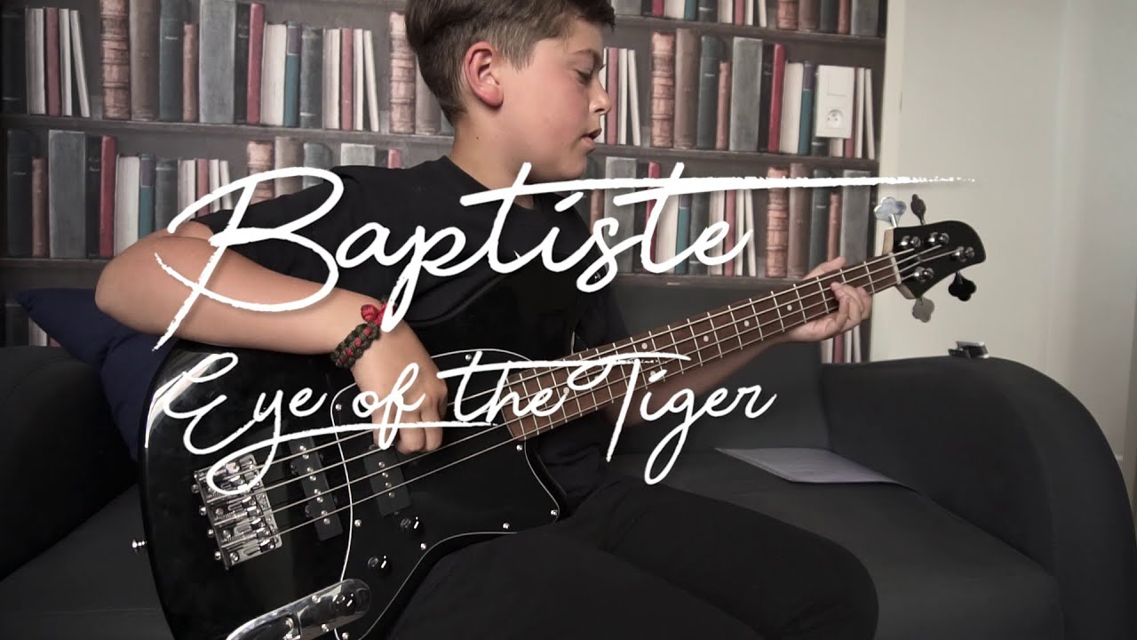Baptiste - Eye of the Tiger (Bass Cover)