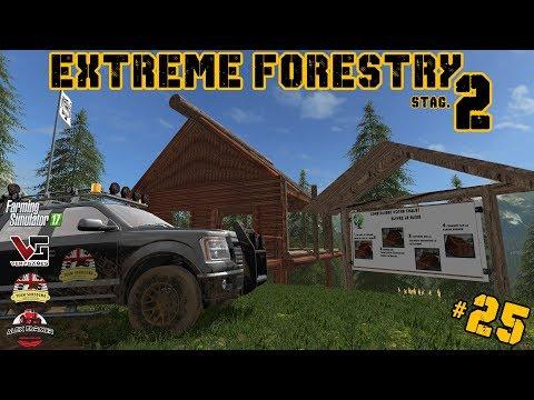 EXTREME FORESTRY STAGIONE 2 | #25 ep. - LAVORI ALLA BAITA - FARMING SIMULATOR 17