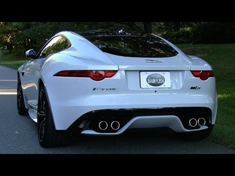 Pure Sound: 2016 Jaguar F-Type R Coupe - Cold Start, Revs, Acceleration