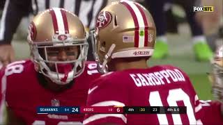 Jimmy Garoppolo first drive and TD as a 49er