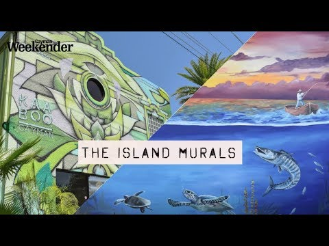 Grand Cayman is becoming the island of many murals