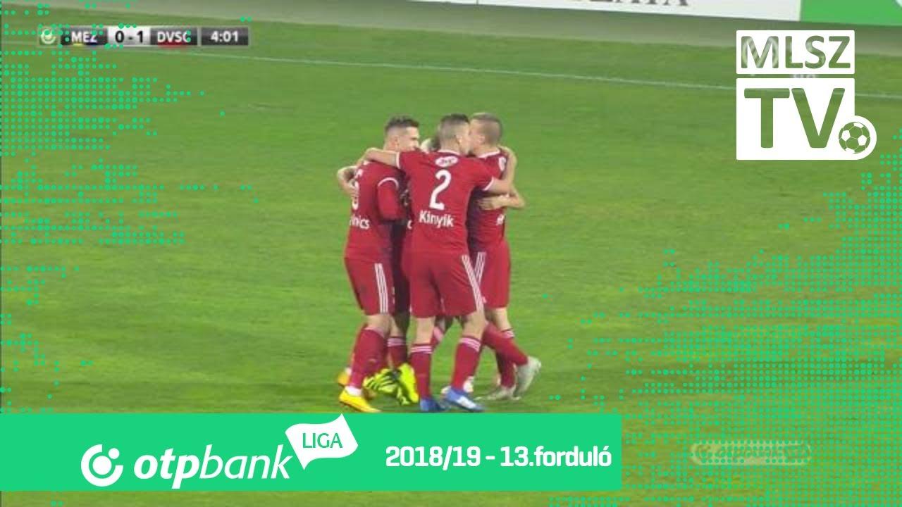 Könyves Norbert gólja a Mezőkövesd Zsóry FC - DVSC mérkőzésen