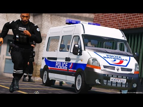 [GTA-LSPDFR] Renault Master | Police Nationale #50