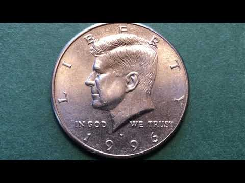 US 1996 Kennedy Half Dollar