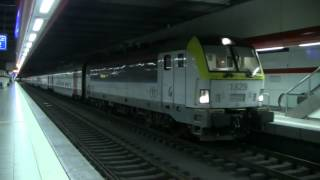 HLE 1829 + M6 + HLE 1882 in Brussel-Nationaal - Luchthaven