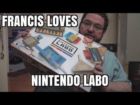FRANCIS LOVES NINTENDO LABO!!!