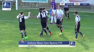 A-Junioren - FC Noettingen vs. VfR Aalen 0-4 - Anthony Mbem-Som Nyamsi