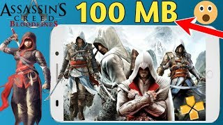100 MB Assassin's Creed Bloodline PSP Highly Compressed Game Play any android Phone