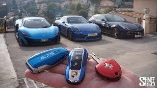 trio test drive 675lt cayman gt4 ff why did i buy them