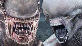 ALIEN: COVENANT - DELETED SCENE - XENOMORPH vs NEOMORPH EXPLAINED