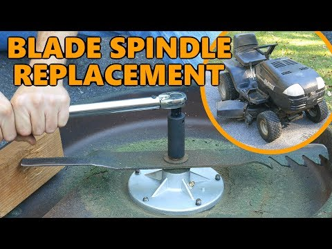 Murray Lawnmower Blade Spindle And Belt Replacement