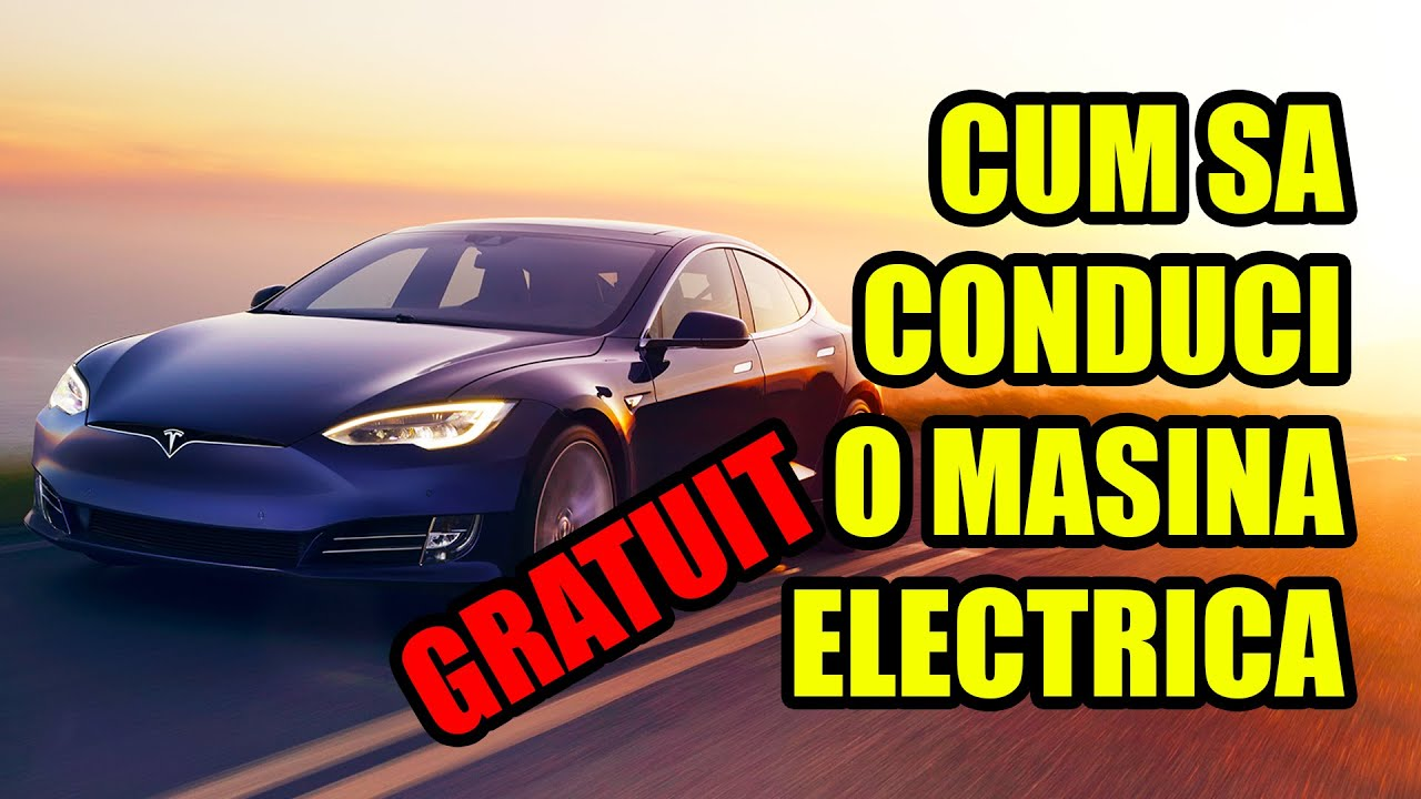CUM SA CONDUCI O MASINA ELECTRICA, GRATUIT, PRIN BUCURESTI?