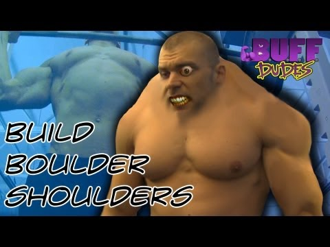 How To Build Boulder Shoulders - Buff Dudes
