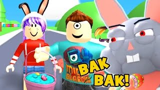 ESCAPE THE EVIL EASTER BUNNY OBBY IN ROBLOX | RADIOJH GAMES & MICROGUARDIAN
