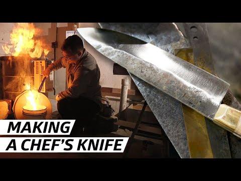 How Knives Are Made for New York's Best Restaurants — Handmade