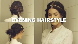 Evening Hairstyle (with subs) - Linda Hallberg Makeup Tutorials Thumbnail