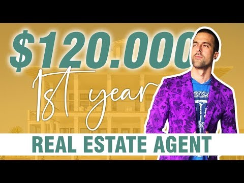How I Made $120,000 My FIRST YEAR In Real Estate