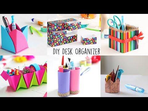 6 Creative Desk Organizer | Back to school | Ventunoart