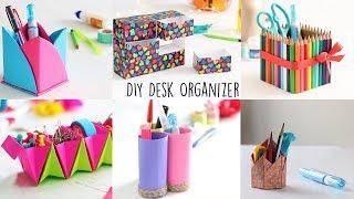6 Creative Desk Organizer   Back to school   Ventunoart