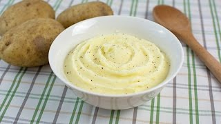 How to Make Mashed Potatoes - Easy Homemade Mashed Potatoes Recipe