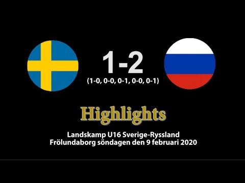 20200209 Sverige-Ryssland 1-2