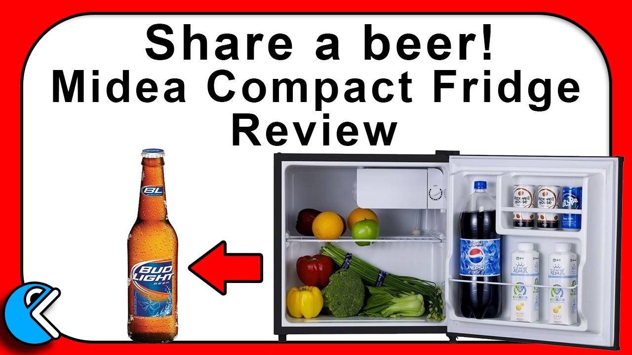 Midea mini fridge, compact and portable Review Cruncher Technology