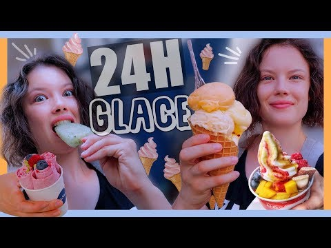 JE MANGE QUE DES GLACES PENDANT 24H - Claire
