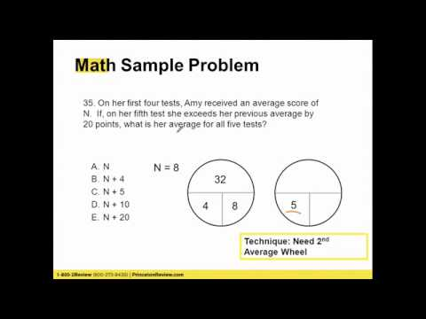 ACT Test-Taking with Princeton Review and Zinch