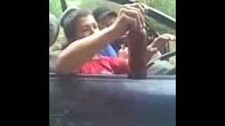 Чеченцы на машине.3gp