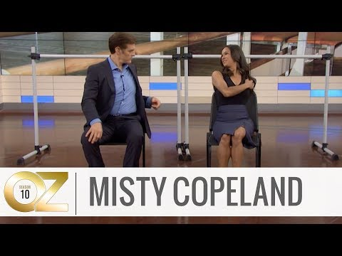 Misty Copeland's Pain-Relieving Stretch