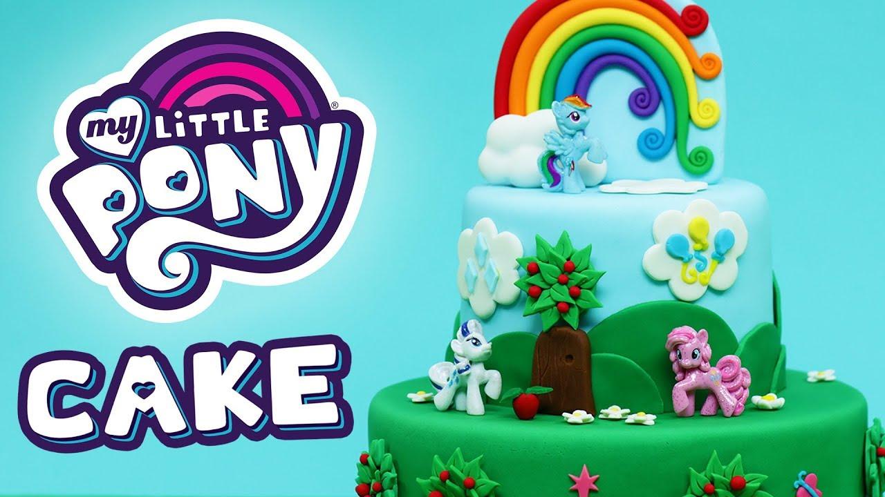 My Little Pony Cake Nerdy Nummies Youtube