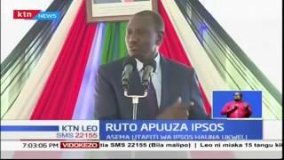 Naibu wa Rais William Ruto afutilia mbali matokeo ya kura ya maoni ya IPSOS