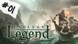 Let's play Endless Legend - From the depth I come #01